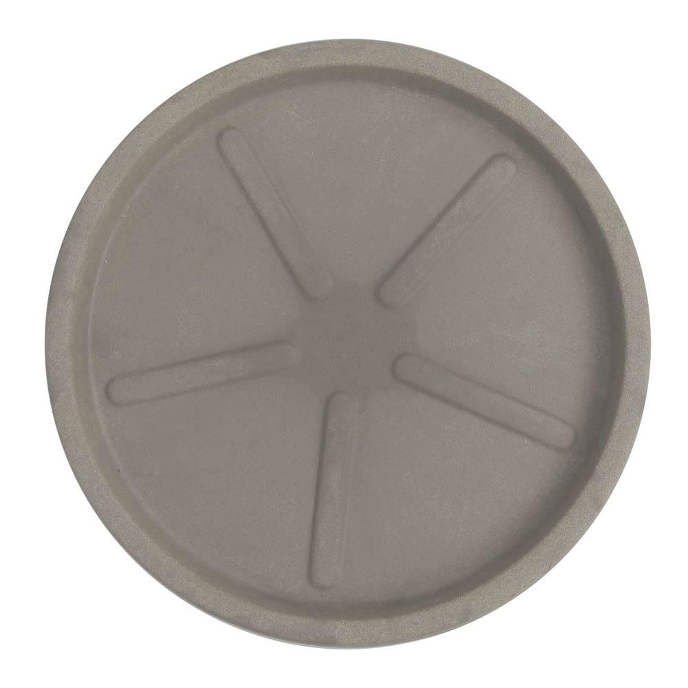 Base Redonda 40 x 3 cm Concreto Marmorizado Vasart