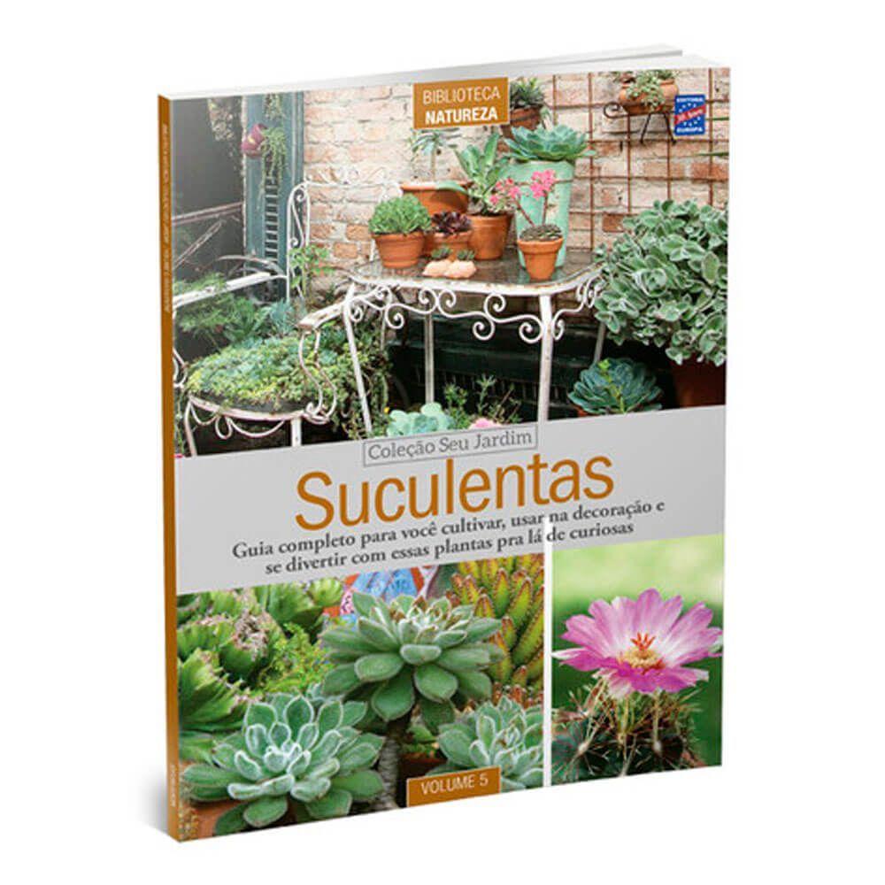 Livro Especial Seu Jardim Volume 2: Suculentas