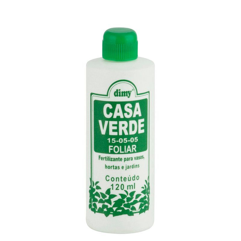 Fertilizante Casa Verde Foliar 120ml DIMY
