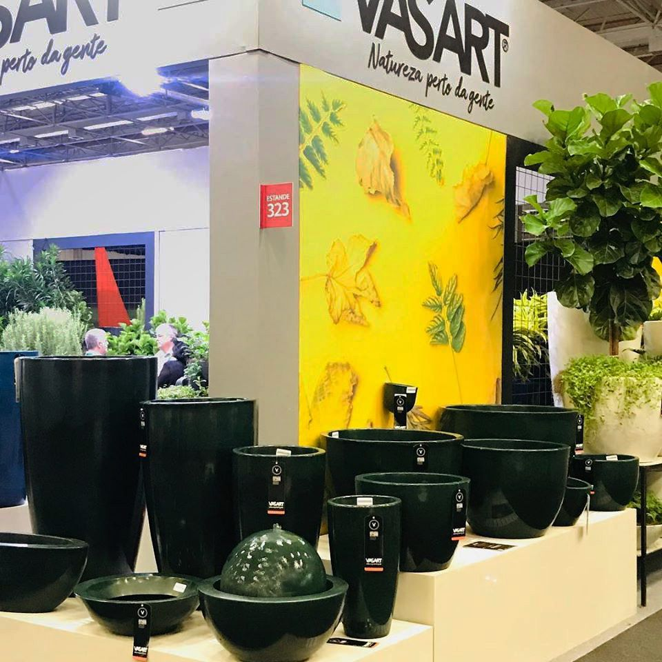 Floreira Verona Oval 80 X 22 Cm Vasart