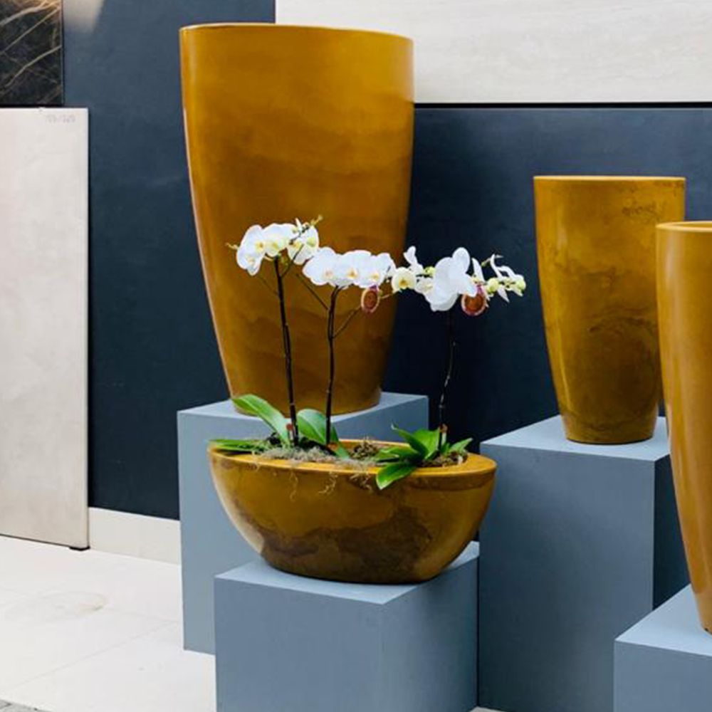 Floreira Verona Oval 80x22cm  Vasart