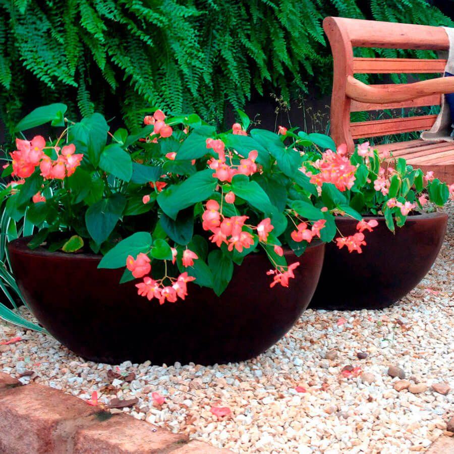 Floreira Verona Oval 80x22 cm VASART