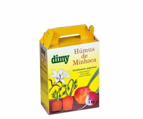 Humus de Minhoca 1kg DIMY