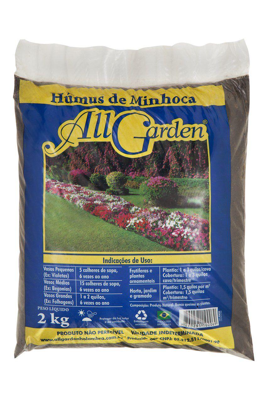 Humus de Minhoca 2kg All Garden