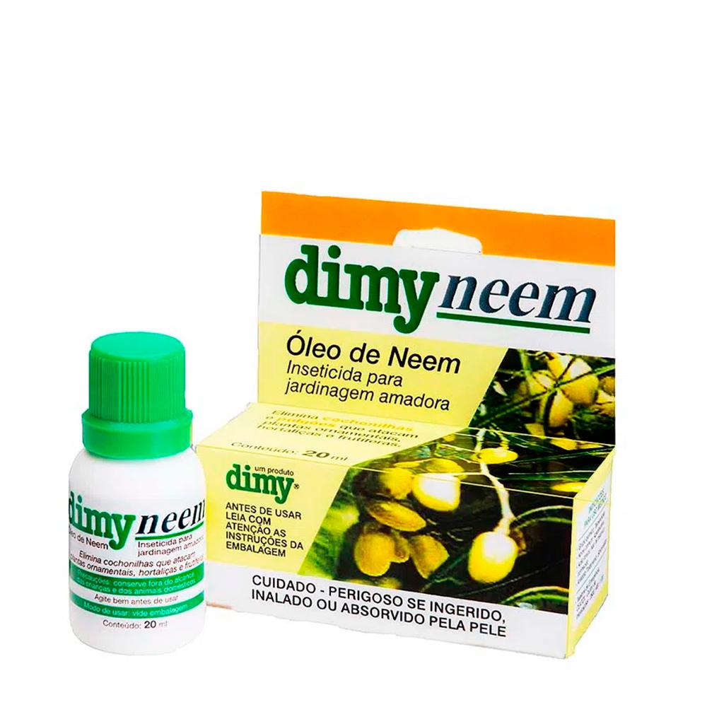 Inseticida Jardinagem Óleo de Neem 20ml DIMY