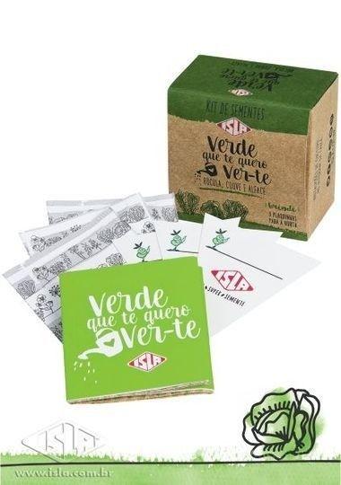Kit de Sementes Verde Que te Quero Ver te ISLA