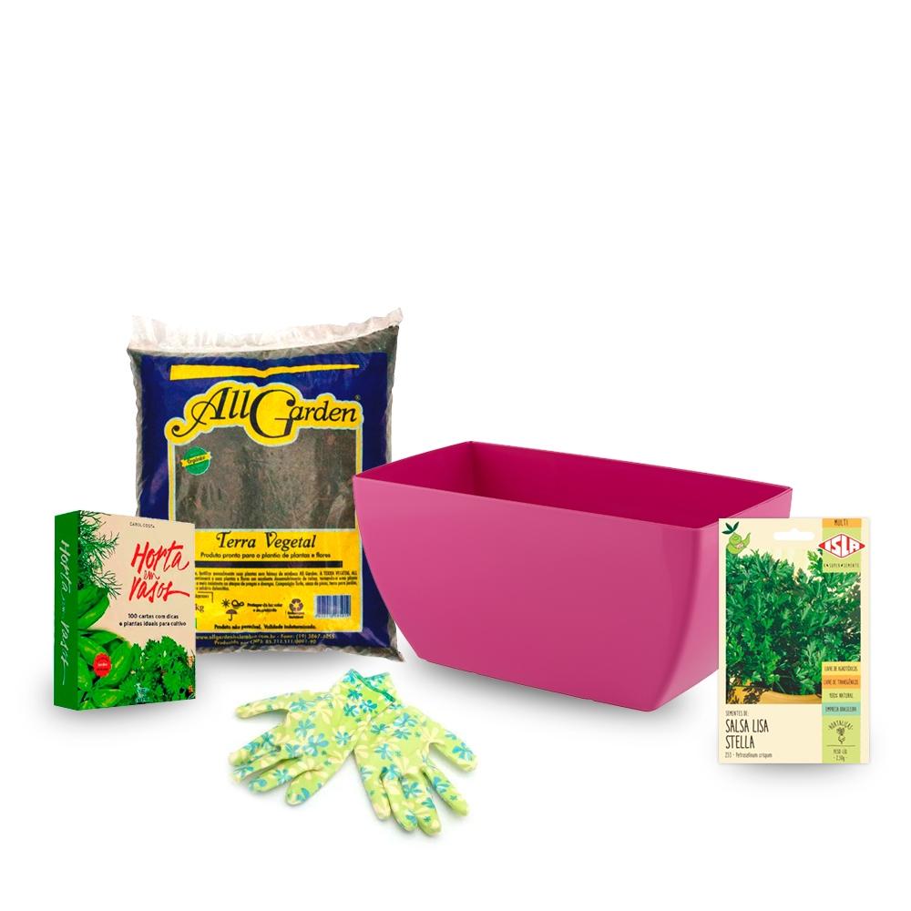 Kit Primeira Horta - 5 Peças