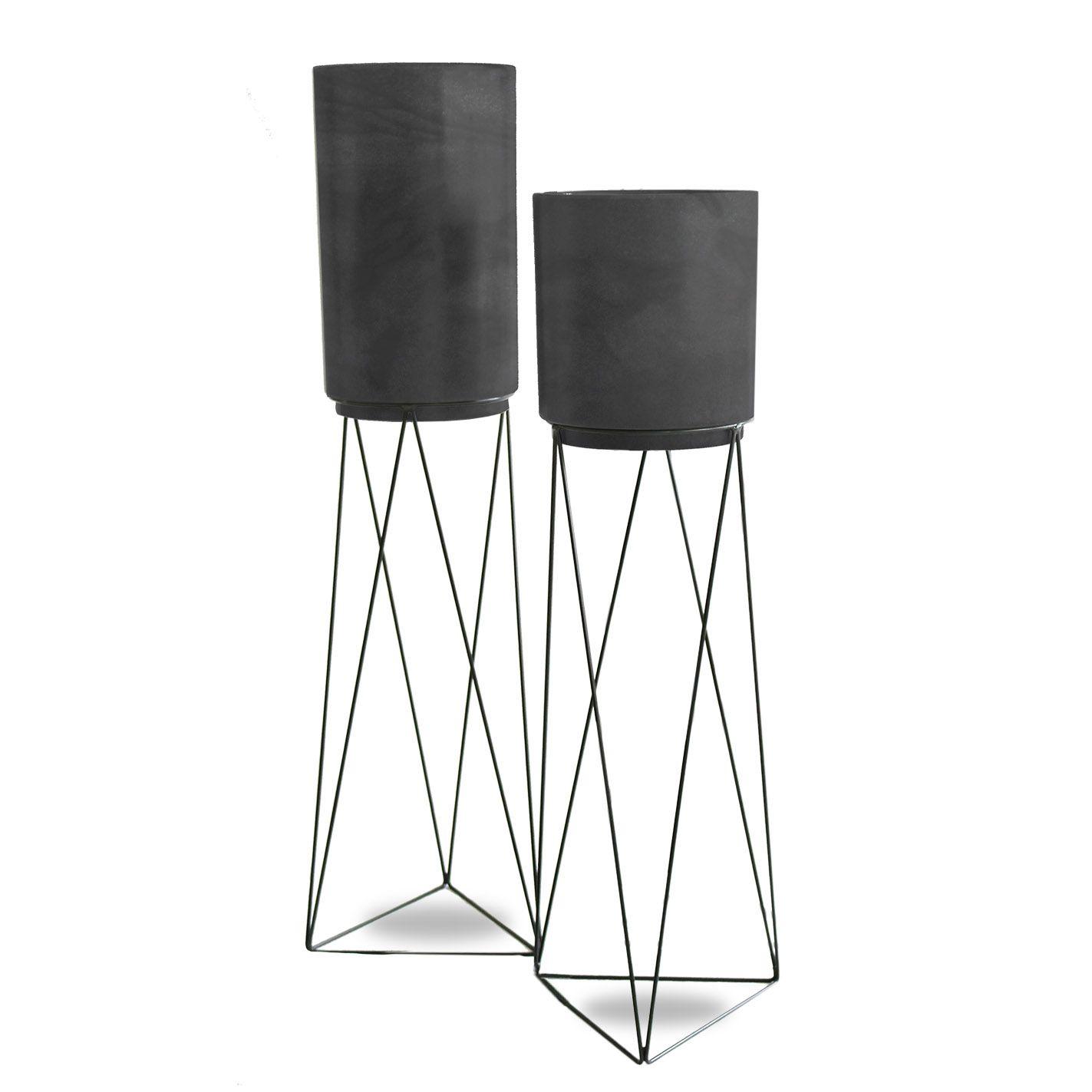 Kit Urban Rio - 4 peças (Suporte + Vaso)