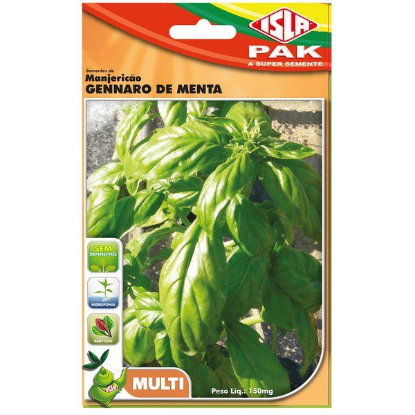 Manjericão Gennaro de Menta - ISLA
