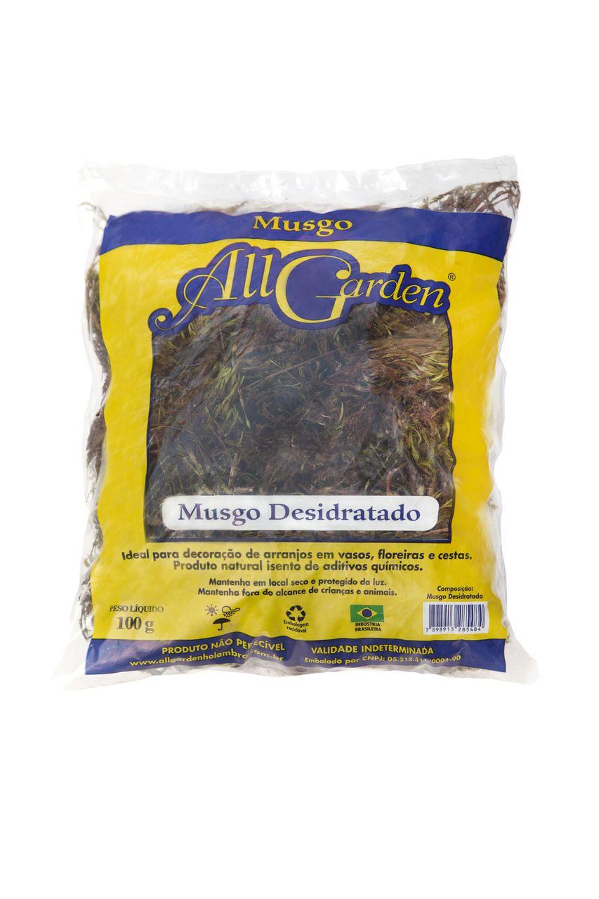 Musgo Desidratado 100g All Garden