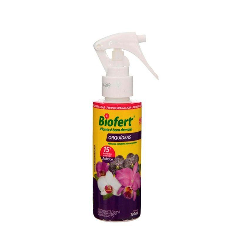 Orquídea Pronto Uso Com Borrifador 120 ml BIOFERT