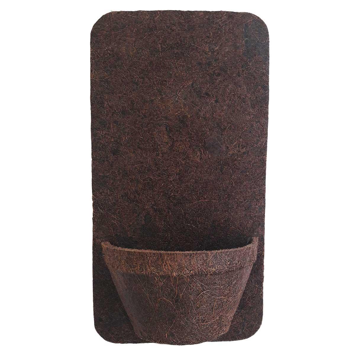 Placa 20cm X 40cm com 1 meio vaso 10 COQUIM