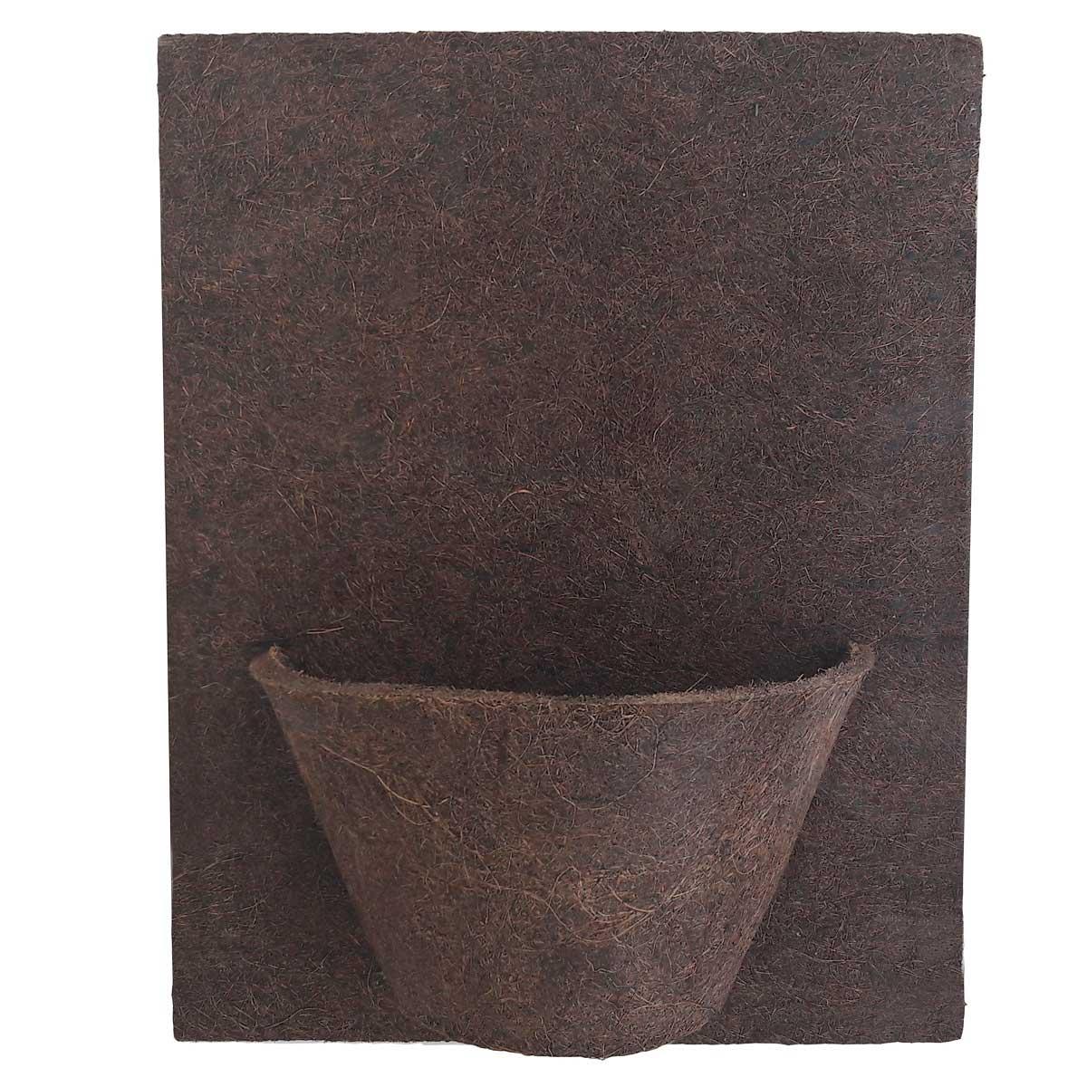 Placa 30cm X 40cm com 1 meio vaso 12 COQUIM