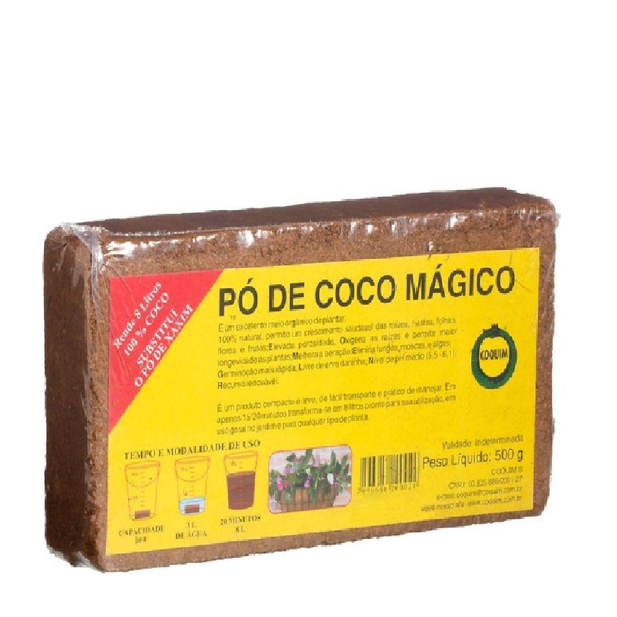 Pó de coco Mágico Tilojo de coco 500g VASART COQUIM