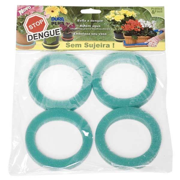 Stop Dengue Dura Plus Aneis Verde  c/ 4