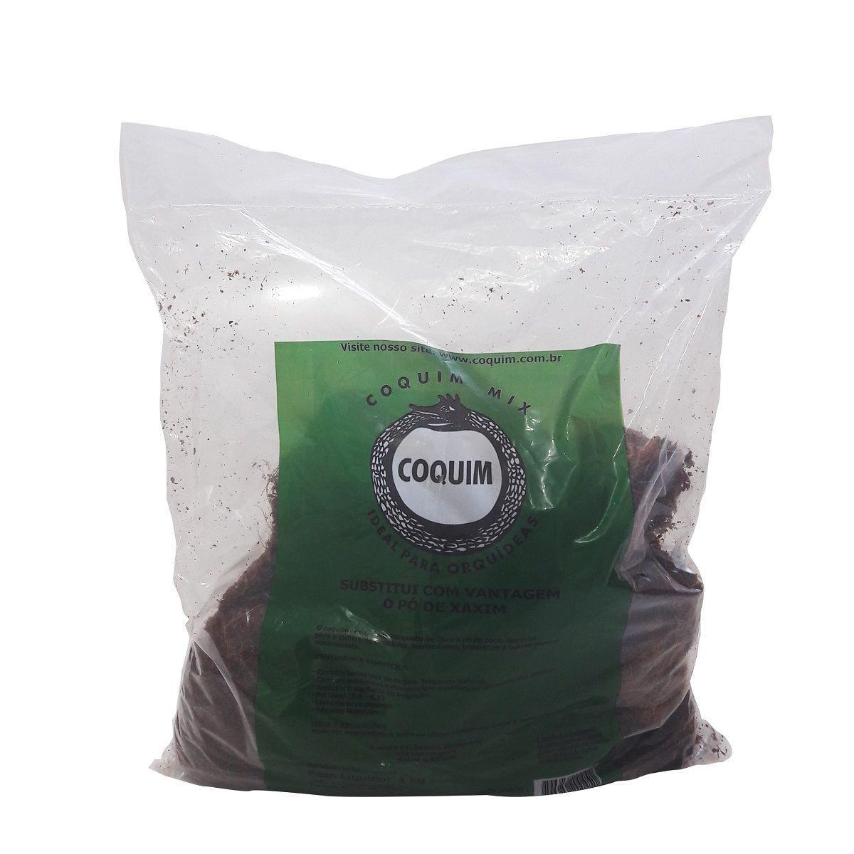Substrato Mix Orquidea e samambaia 1kg COQUIM