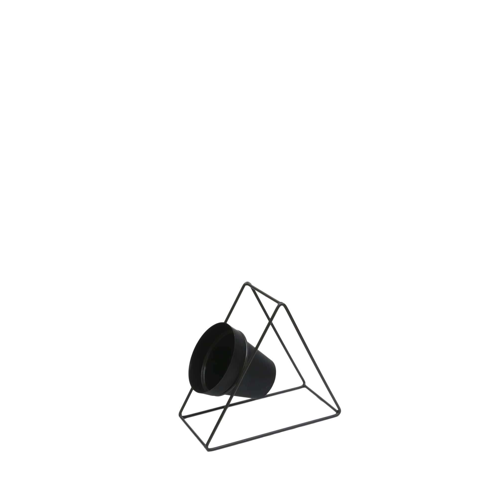 Suporte Ferro Triângulo Parede 24 x 24 cm Vasart
