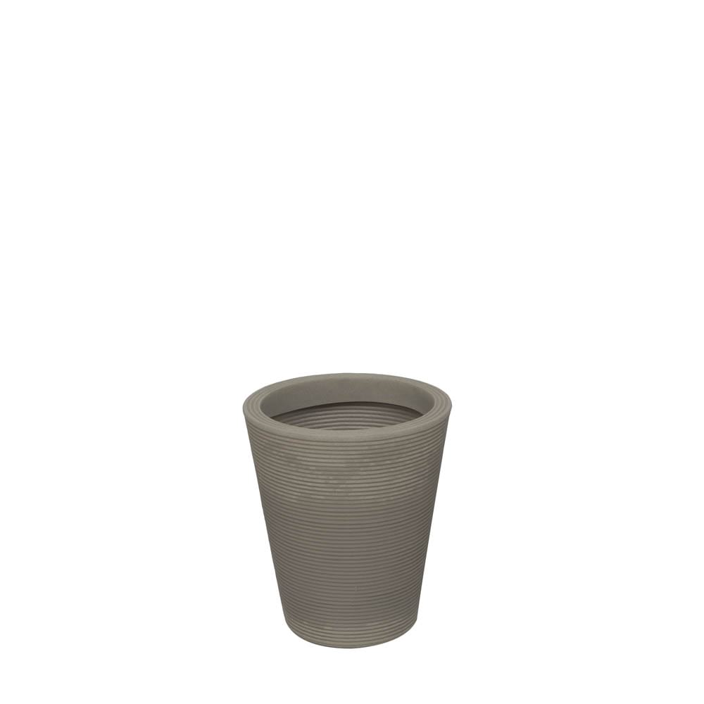 Vaso Bali 35 x 40 cm Concreto Marmorizado Vasart