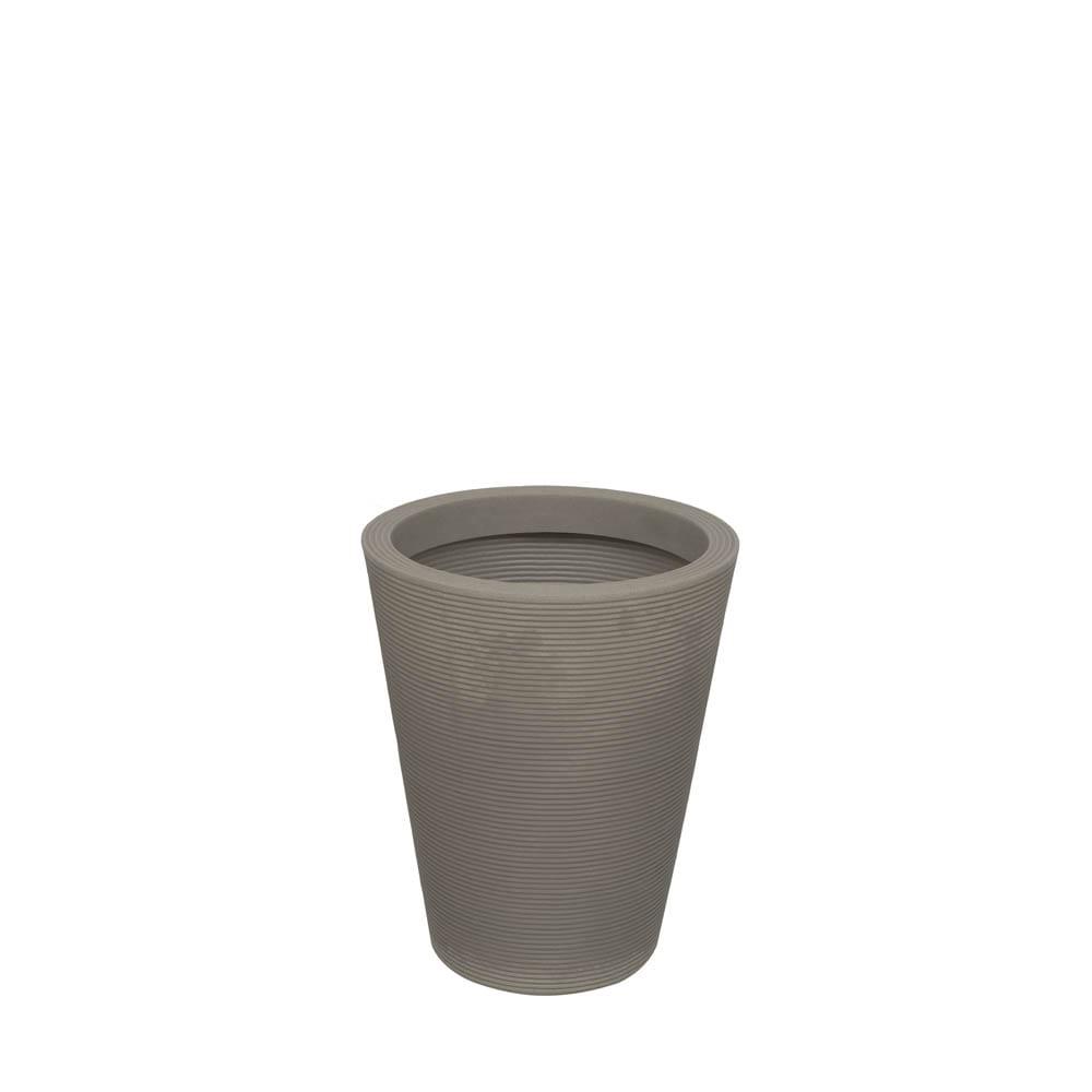 Vaso Bali 45 x 55 cm Concreto Marmorizado Vasart