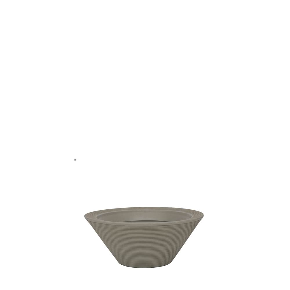Vaso Bali 58 x 24 cm Concreto Marmorizado Vasart