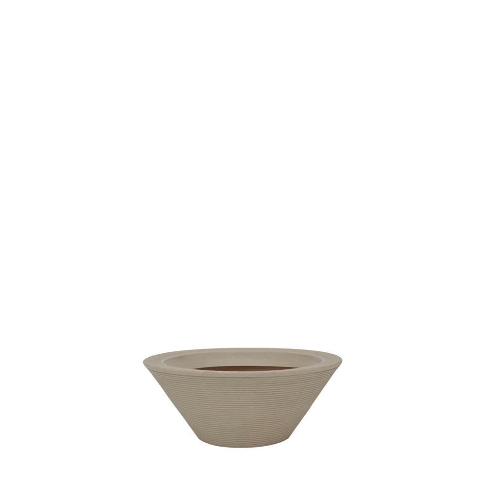 Vaso Bali 58 x 24 cm Granito Areia Vasart