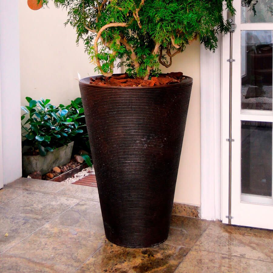 Vaso Bali 58 x 80 cm Granito Areia Vasart