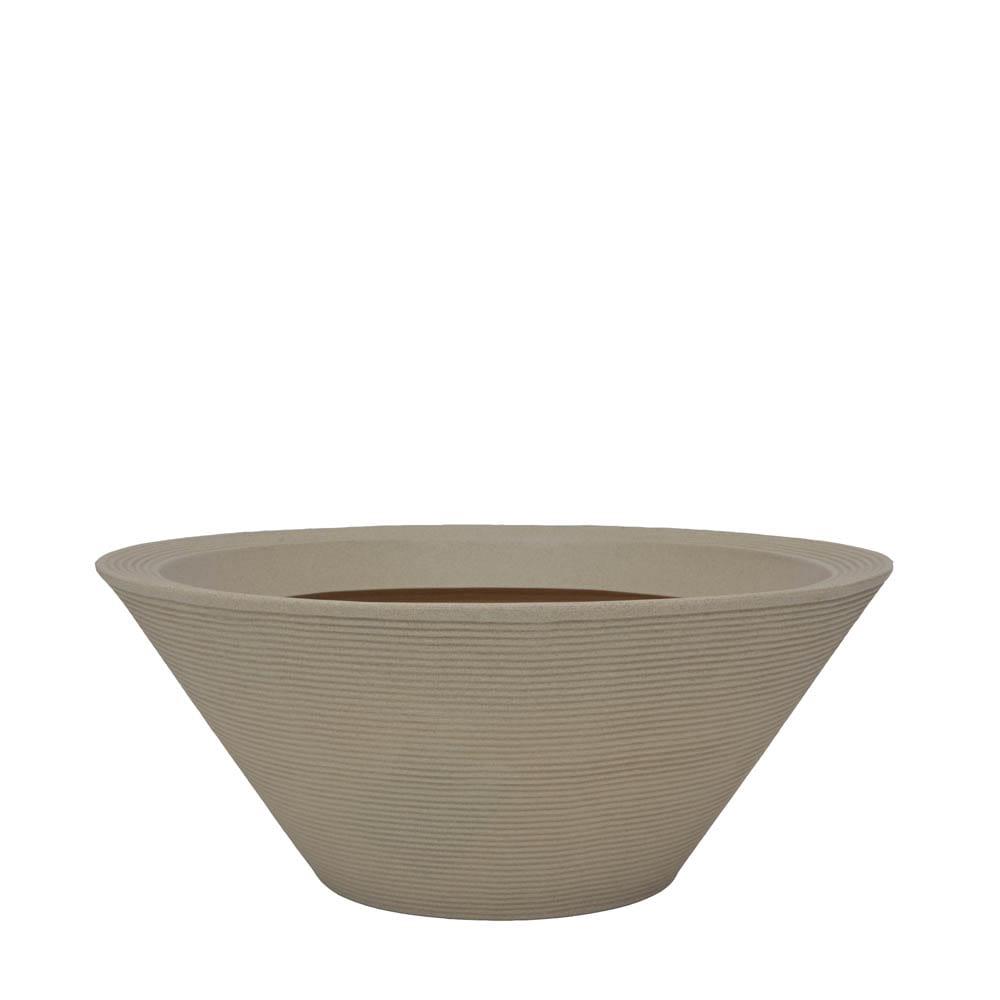 Vaso Bali 74 x 30 cm Granito Areia Vasart