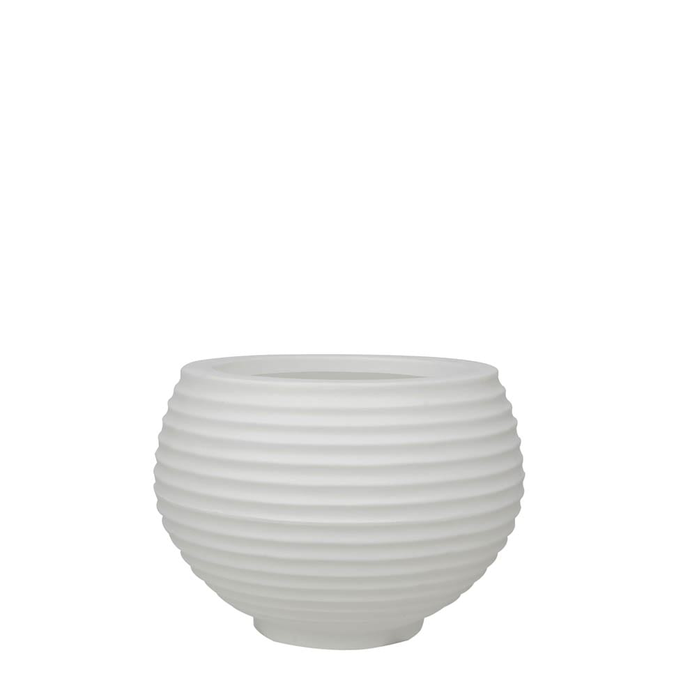 Vaso Bromélia 26 x 24 cm Branco Vasart