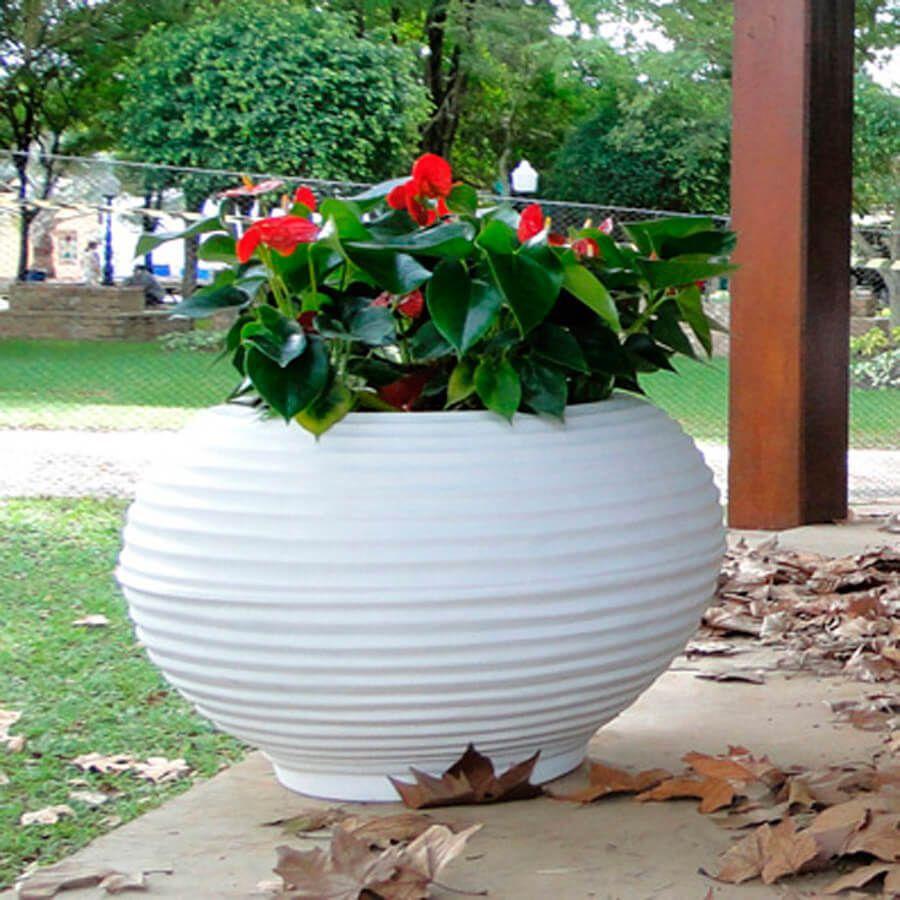 Vaso Bromélia 42 x 48 cm Corten Vasart