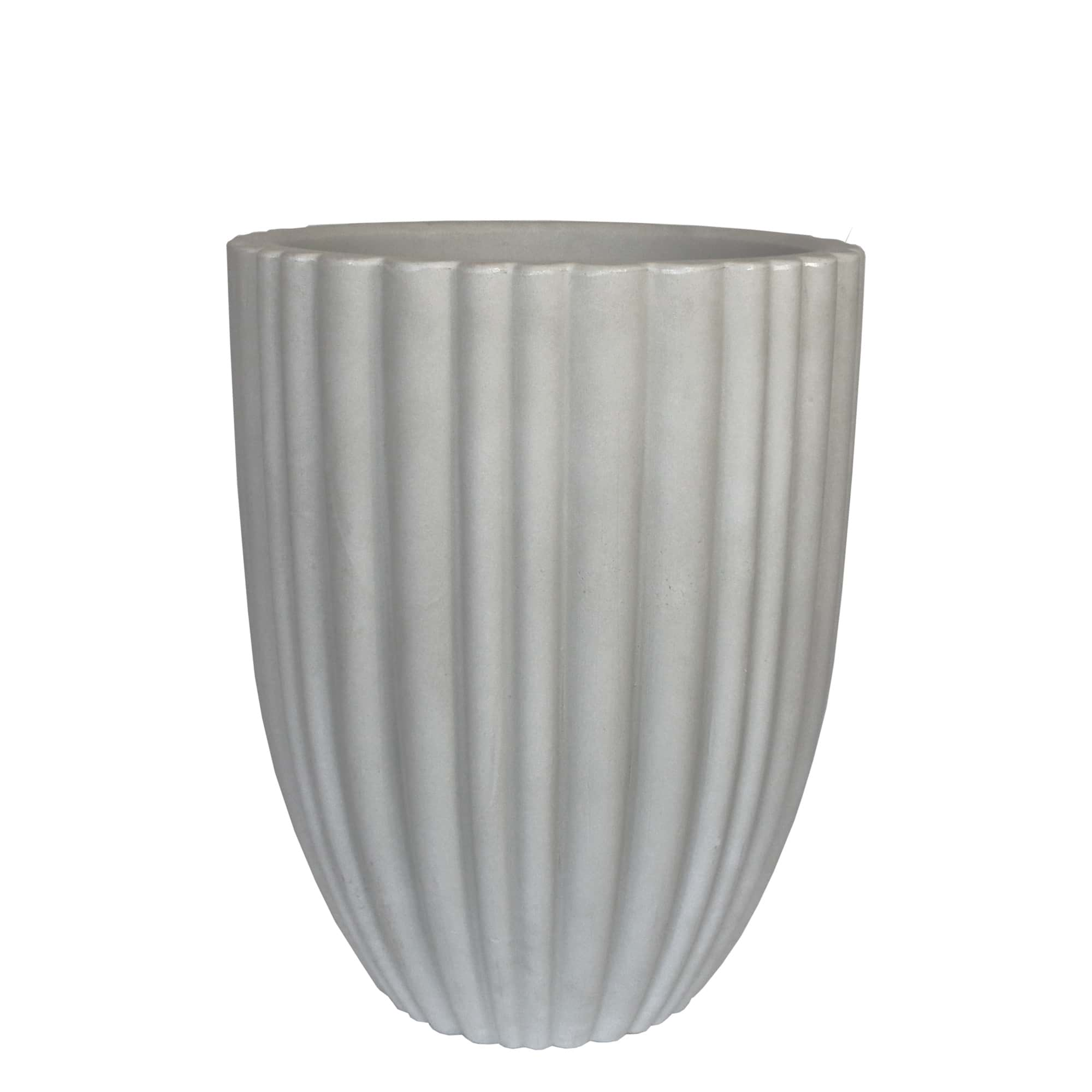 Vaso Cacau 32 x 46 cm Antique Branco
