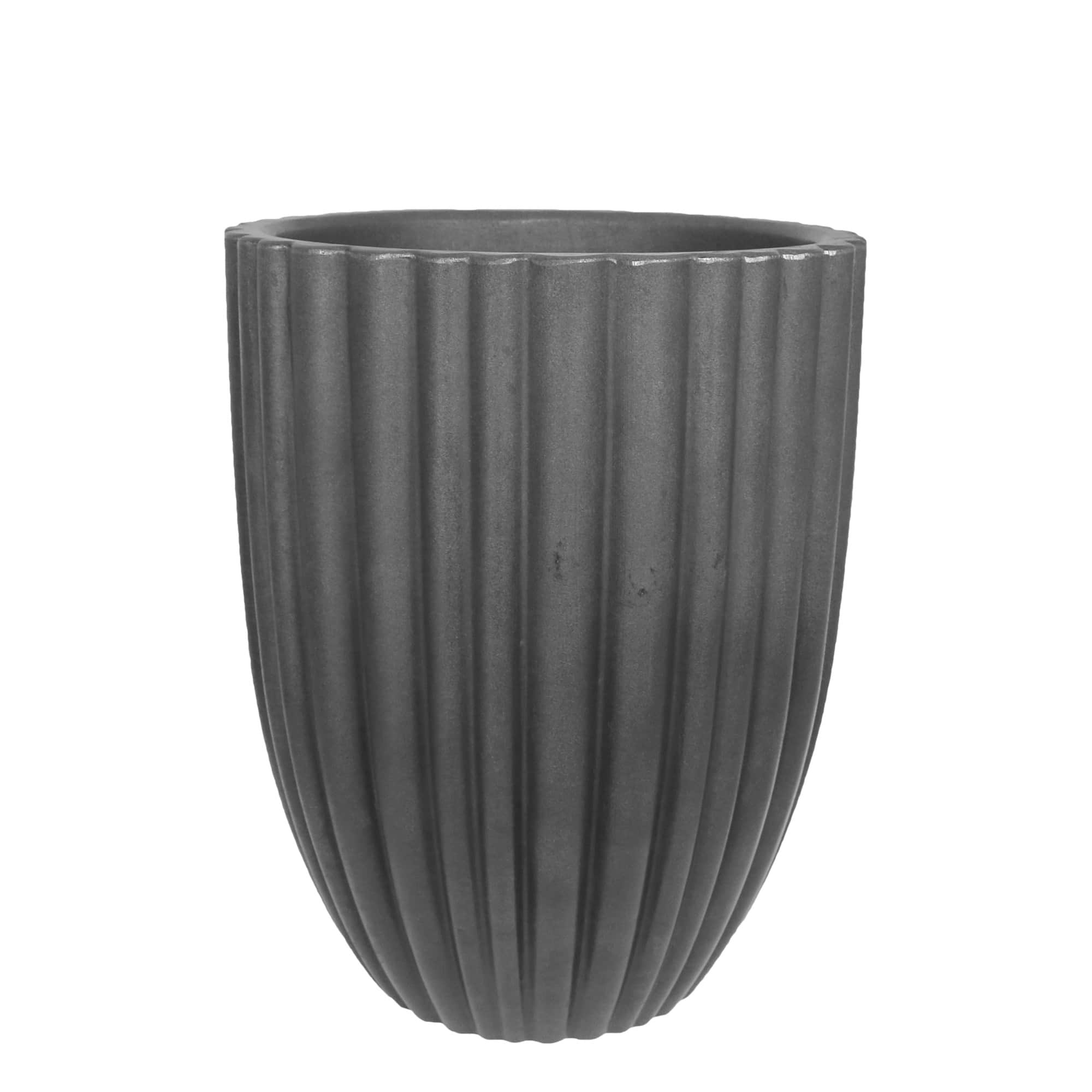 Vaso Cacau 32 x 46 cm Antique Preto