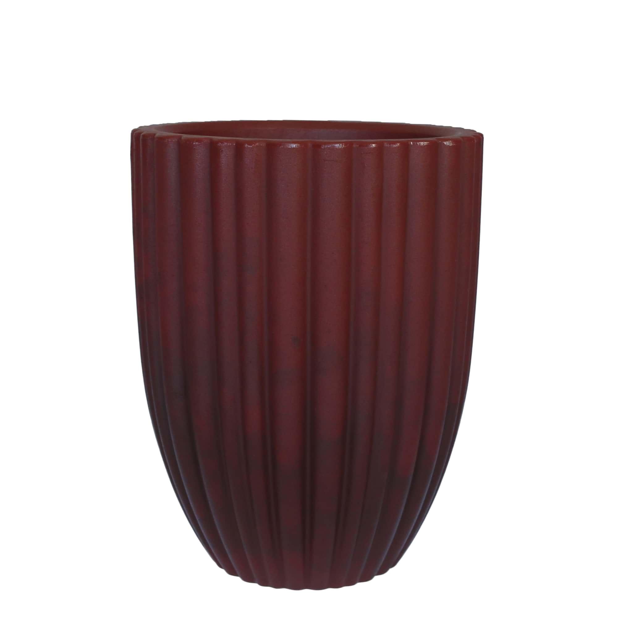 Vaso Cacau 32 x 46 cm Antique Vermelho