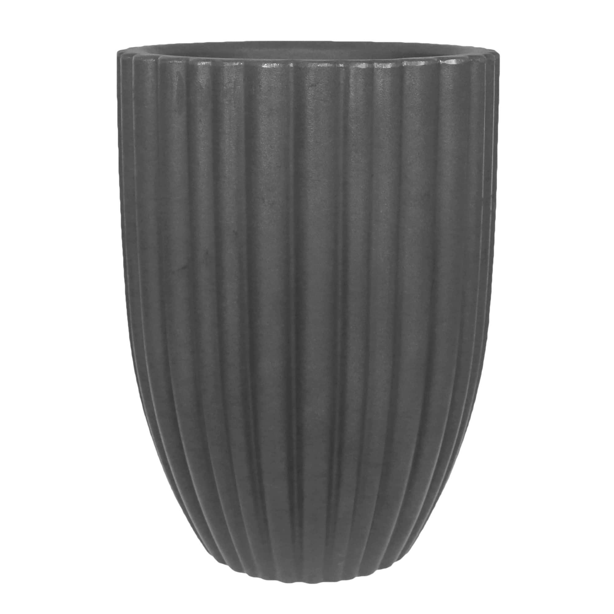 Vaso Cacau 42 x 54 cm Antique Preto