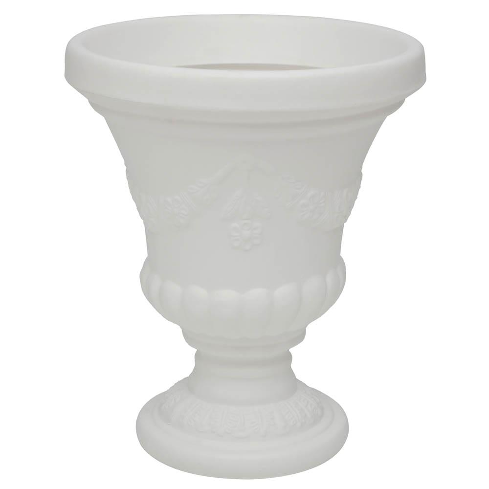 Vaso Cálice Hibisco 49 x 57 cm Branco Vasart
