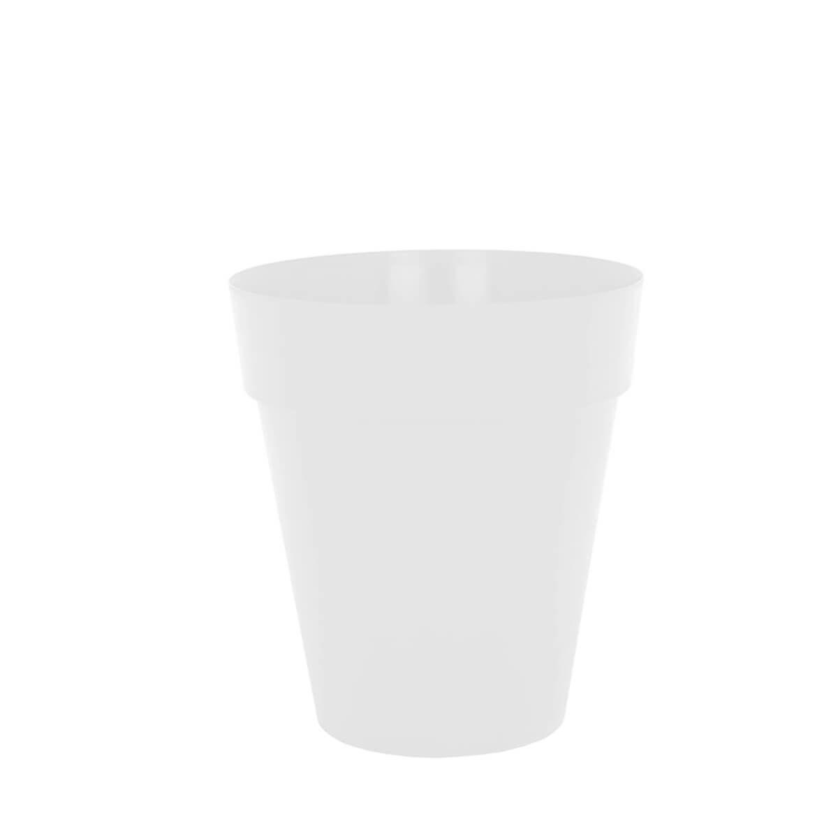 Vaso Capri 30 x 22 cm Branco Vasart