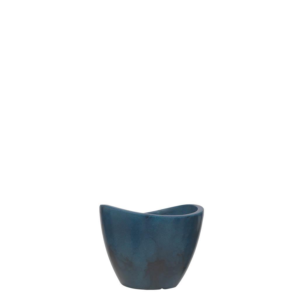 Vaso Copacabana 30 x 23 cm Vietnamita Azul Vasart