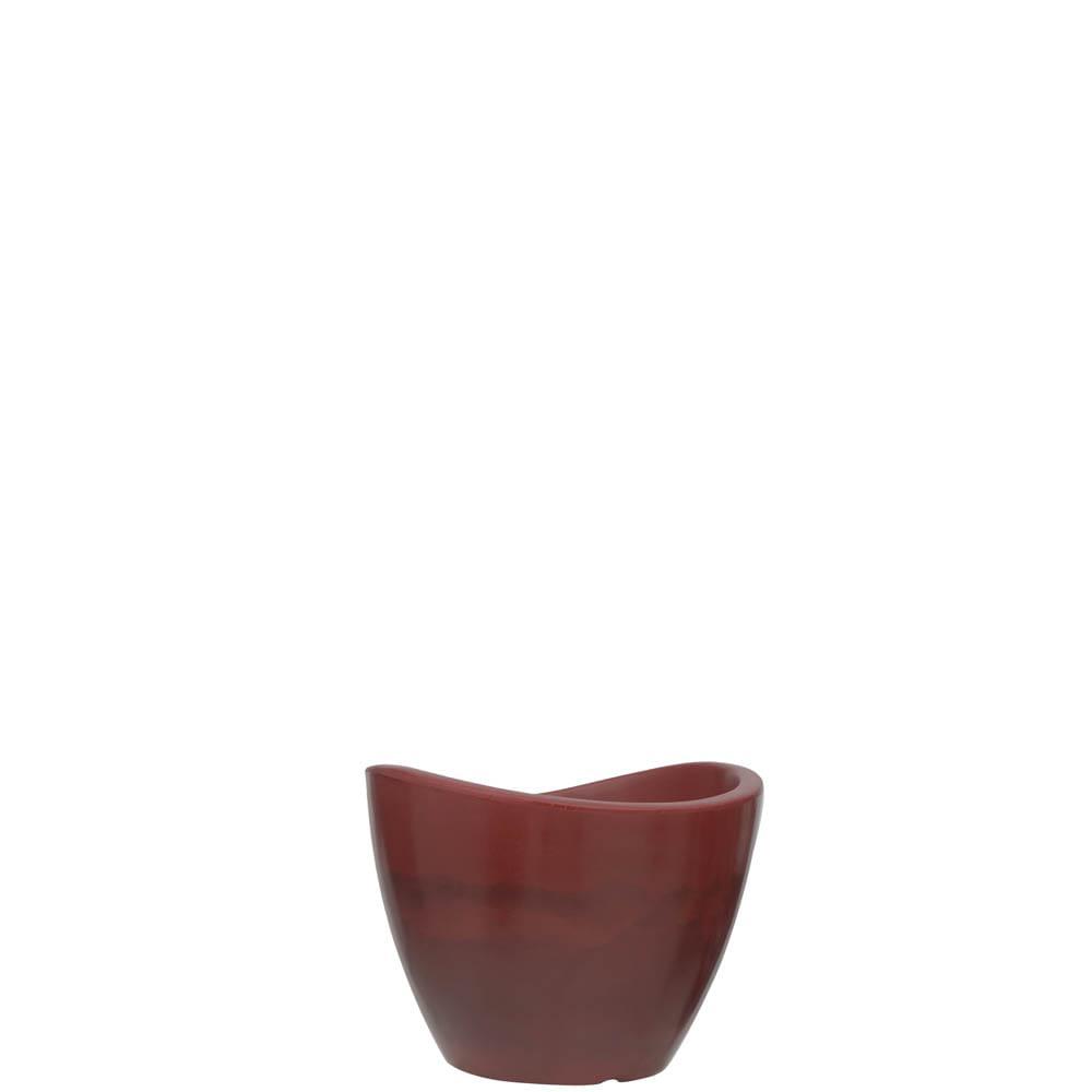 Vaso Copacabana 30 x 23 cm Vietnamita Vermelho Vasart