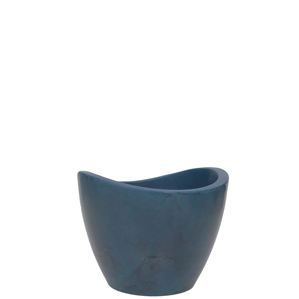 Vaso Copacabana 40 x 30 cm Vietnamita Azul Vasart