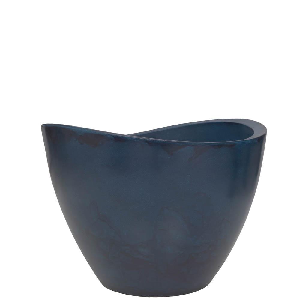 Vaso Copacabana 60 x 45 cm Vietnamita Azul Vasart