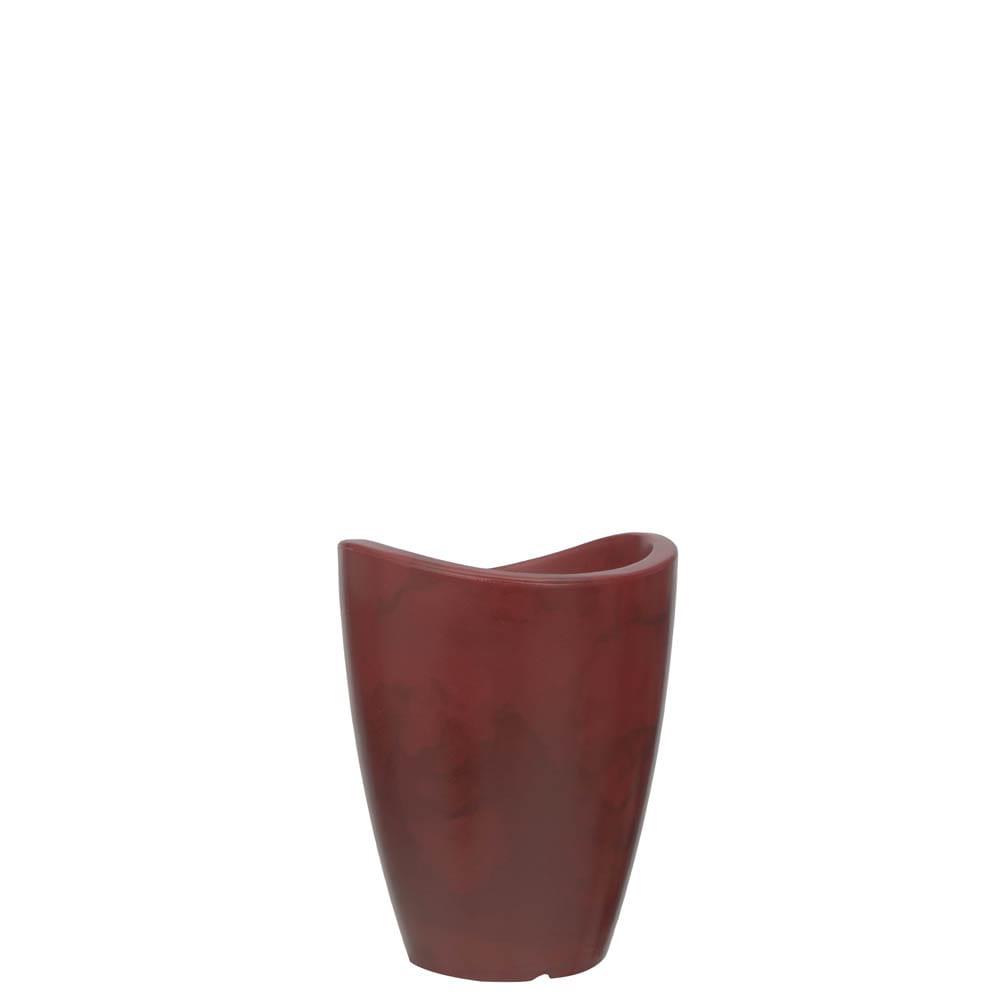 Vaso Copacabana Alto 25 x 32 cm Vietnamita Vermelho Vasart
