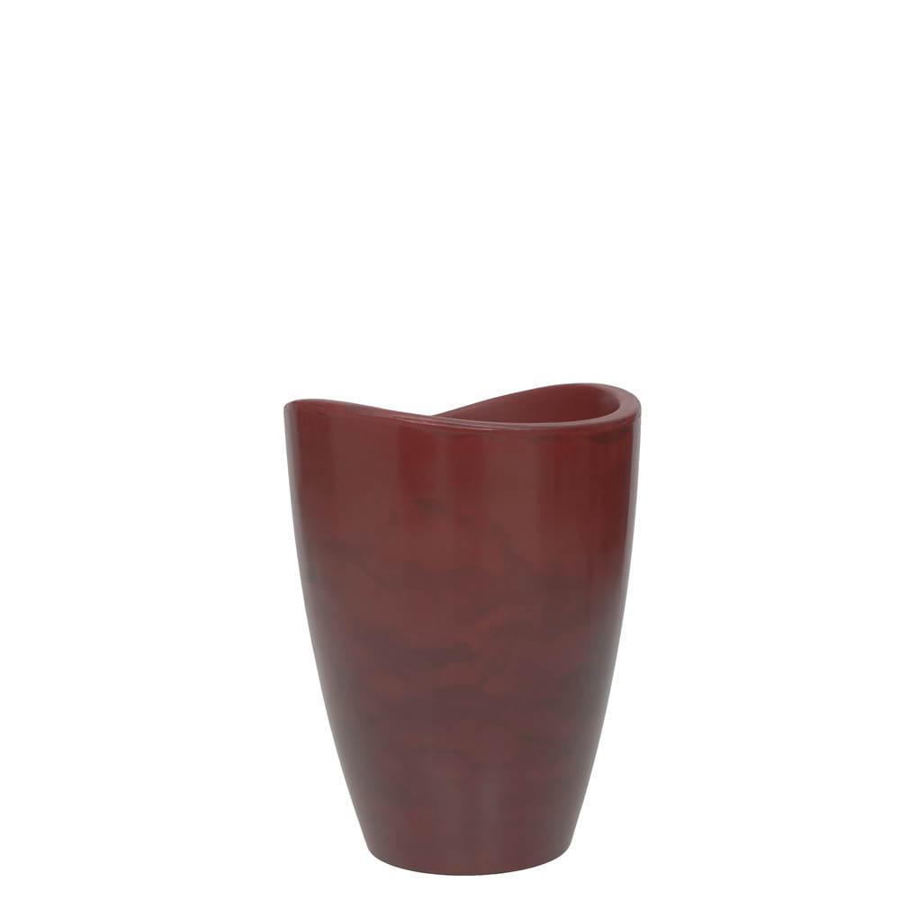 Vaso Copacabana Alto 30 x 40 cm Vietnamita Vermelho Vasart