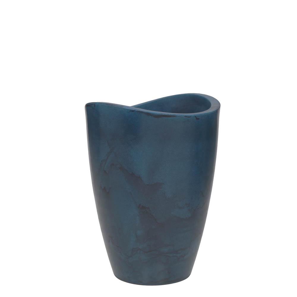 Vaso Copacabana Alto 40 x 54 cm Vietnamita Azul Vasart