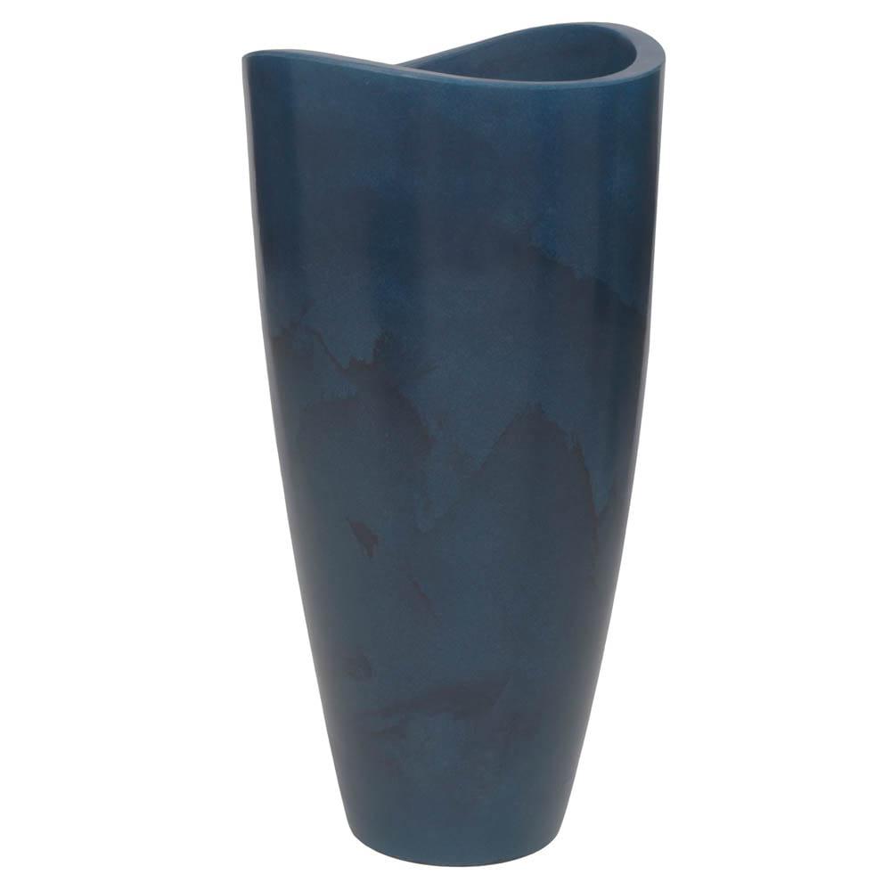 Vaso Copacabana Alto 45 x 90 cm Vietnamita Azul Vasart