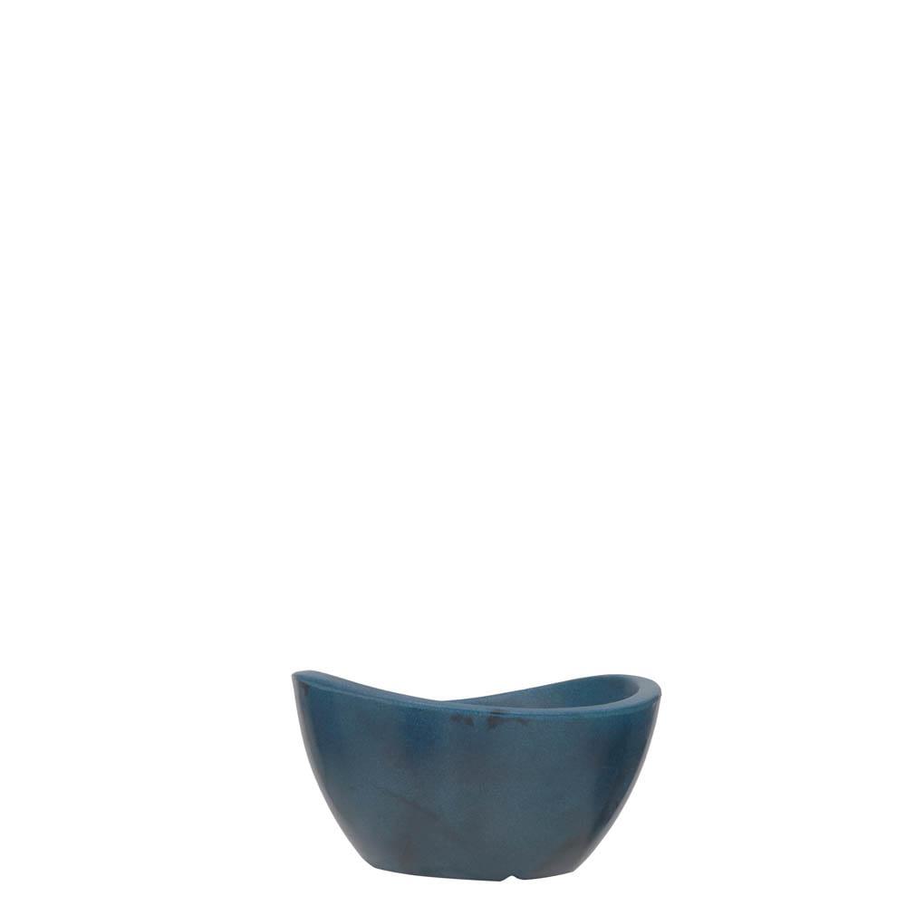 Vaso Copacabana Bowl 30 x 16 cm Vietnamita Azul Vasart