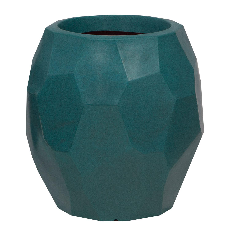Vaso Geo 45 x 47 cm Vietnamita Jade Vasart