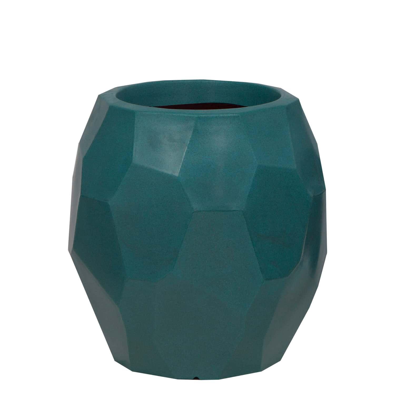 Vaso Geo 39 x 40 cm Vietnamita Jade Vasart