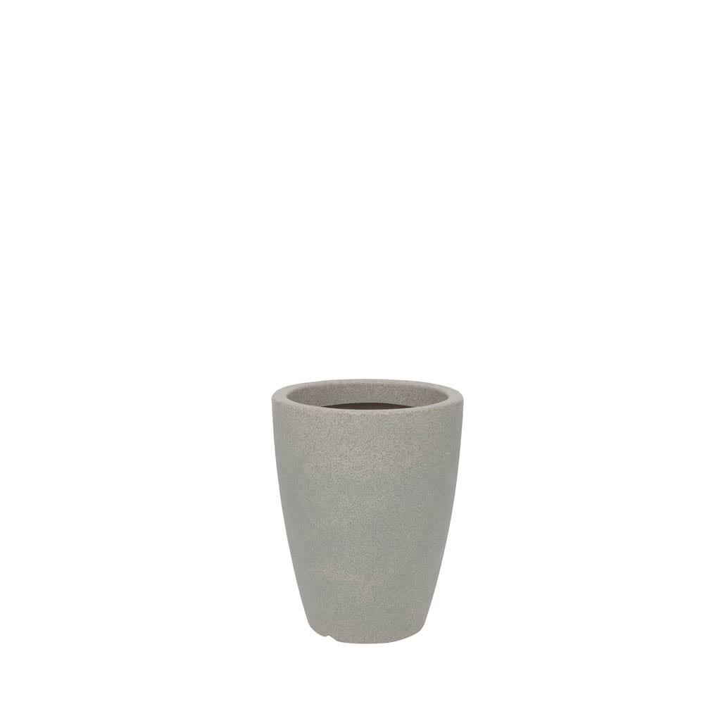 Vaso Malta Cone 30 x 40 cm Granito Pedra Vasart