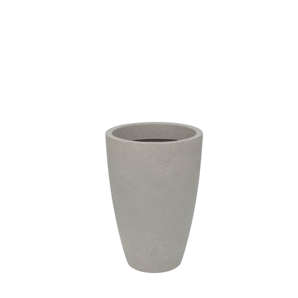 Vaso Malta Cone 38 x 55 cm Granito Pedra Vasart