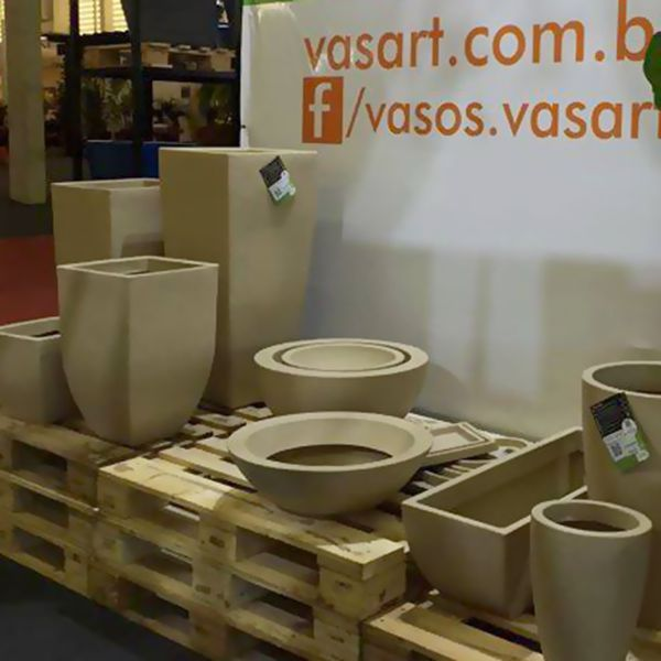 Vaso Malta Redondo 34 x 27 cm Vasart