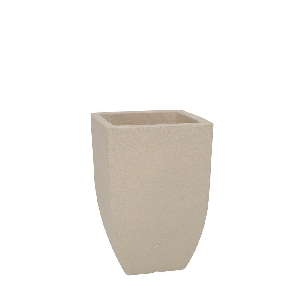 Vaso Malta Trapézio 30 x 45 cm Granito Areia Vasart